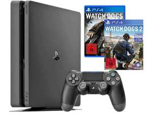 [Media Markt Online] Playstation 4 Slim 1 TB mit Watchdogs 1 und 2 289 €