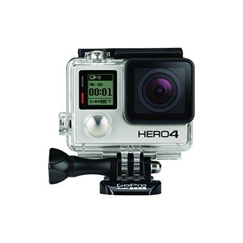 [Amazon.es] GoPro HERO4 Black Edition Adventure 4K30 - (12 Megapixel, 40m Wassertiefe)