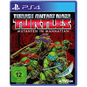 Teenage Mutant Ninja Turtles : Mutanten in Manhattan ( PLAYSTATION 4 ) oder Ghostbusters - PlayStation 4 für je nur 14,99€ / Saturn Abholung im Markt !