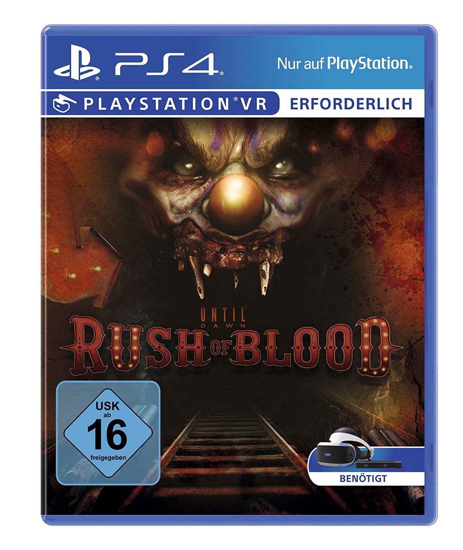 Until Dawn: Rush of Blood (PSVR) für 9,99€ versandkostenfrei (Saturn + Amazon Prime)