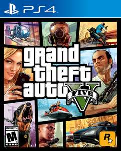 Grand Theft Auto 5 (GTA 5)PS4
