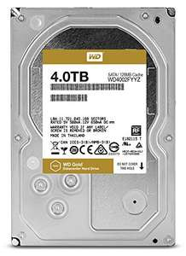 WD Gold 4 TB festplatte fur €161