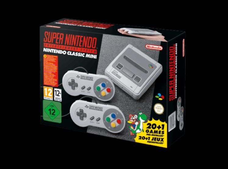Super Nintendo Classic Mini SNES wieder vorbestellbar bei MediaMarkt