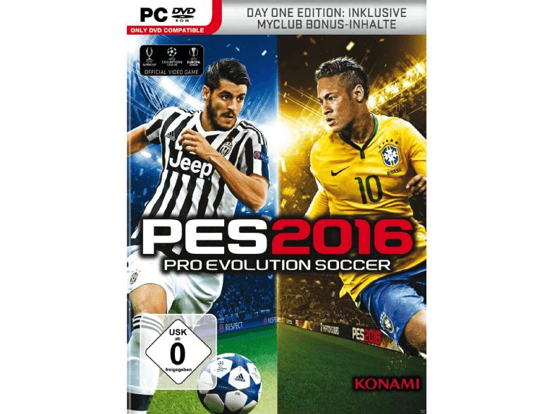 PES 2016 (Day 1 Edition) PC für 1€ inkl. Versand (Saturn)
