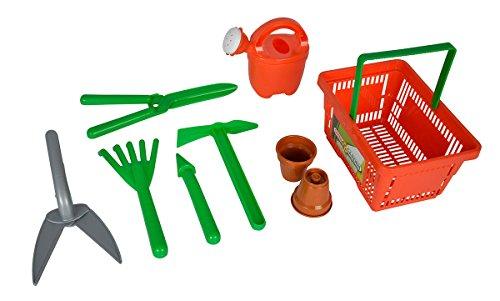 Amazon PLUS PRODUKT  Simba 107134088 Gartenwerkzeug in Korb Spielzeug