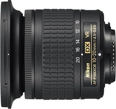 """Nikon AF-P DX NIKKOR 10-20 mm F4.5-5.6G VR """"Ultra""""-Weitwinkel Objektiv"""