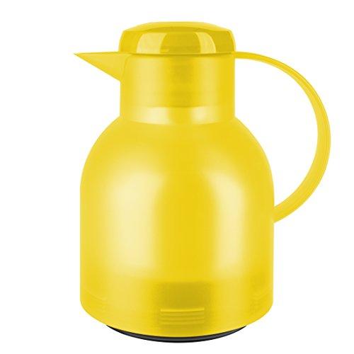 Emsa Isolierkanne 1 Liter mit Quicktip-Verschluss in Gelb (Amazon Plus Produkt)