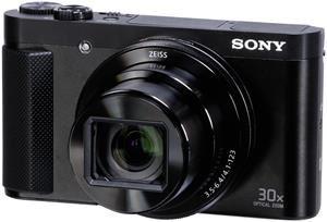 Sony CyberShot DSC-HX90 - Kompaktkamera mit 30x opt. Zoom, Weitwinkelobjektiv, NFC, WiFi Funktion, Superior iAuto Modus, 5-Achsen Bildstabilisator, OLED-Sucher