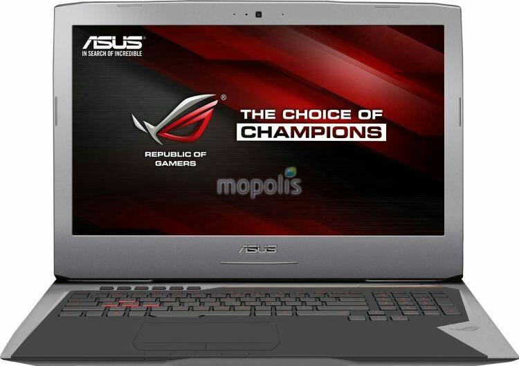 "Asus ROG G752VS-BA184T (17"", i7, GTX1070, 16GB RAM, SSD+HDD) [Conrad]"
