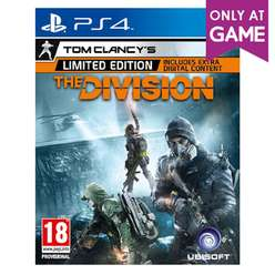Tom Clancy's The Division Limited Edition (PS4) für 14,70€ (Exklusiv Game UK)