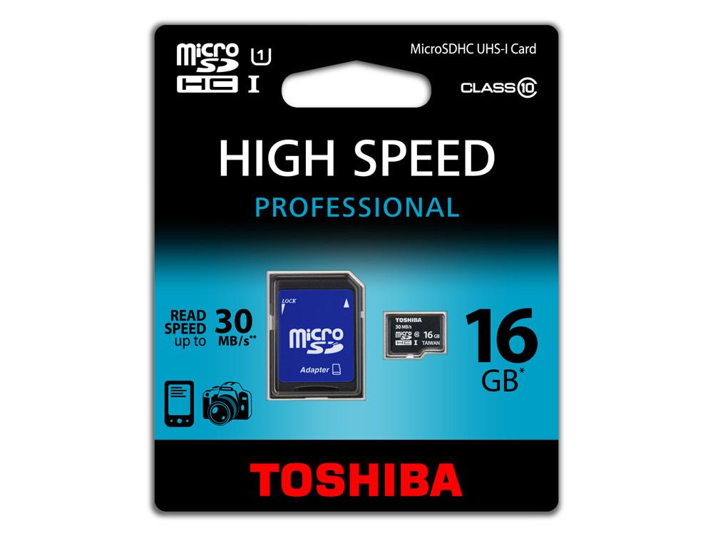 Toshiba microSD 16GB Class 10 für 1,99€ (Gravis Aachen) oder 64GB für 9,99€ (Gravis München, Leipzig)
