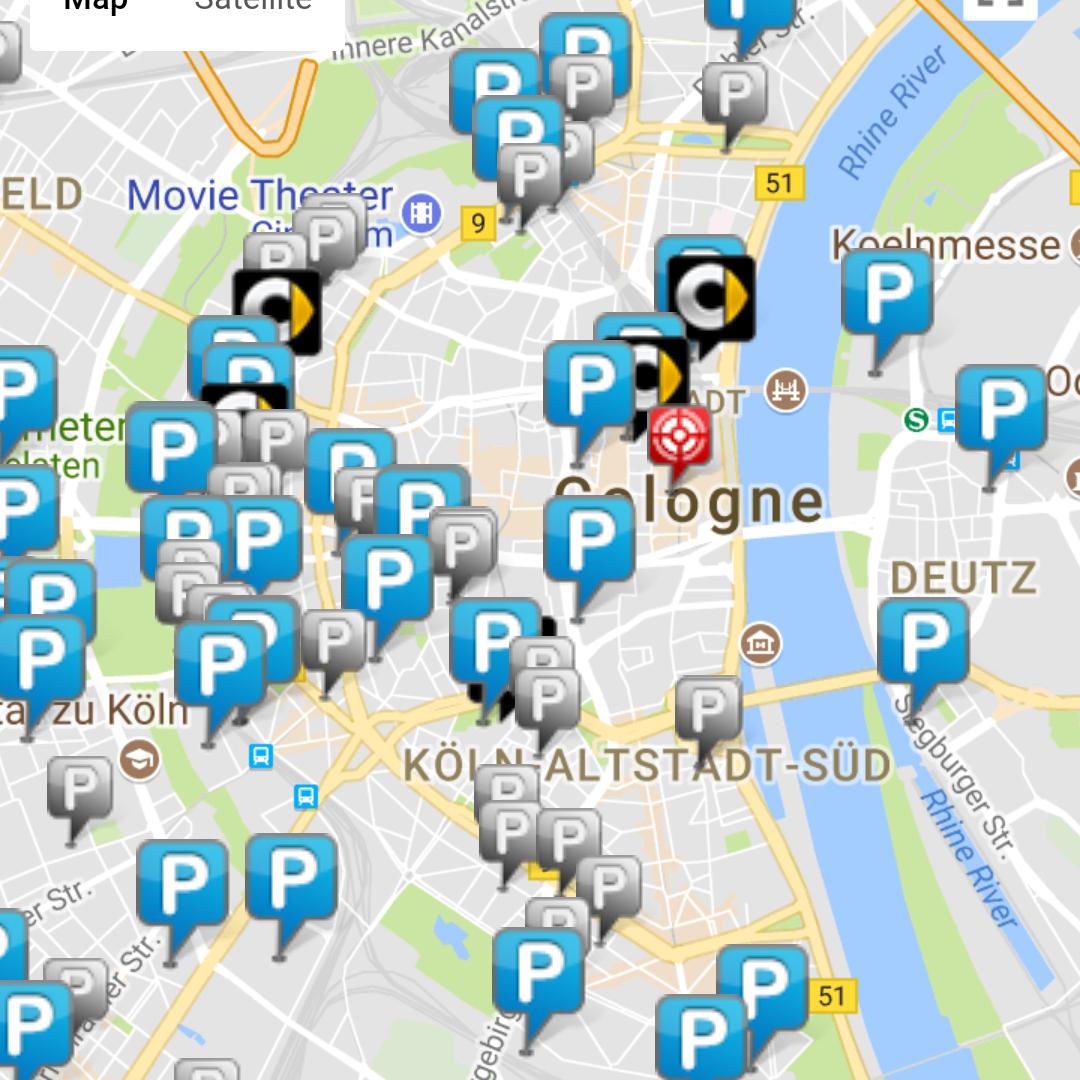 """Ampido Parkplatzsharing 10€ Gutschein """"Join"""" (für Neu- und Bestandskunden!)"""