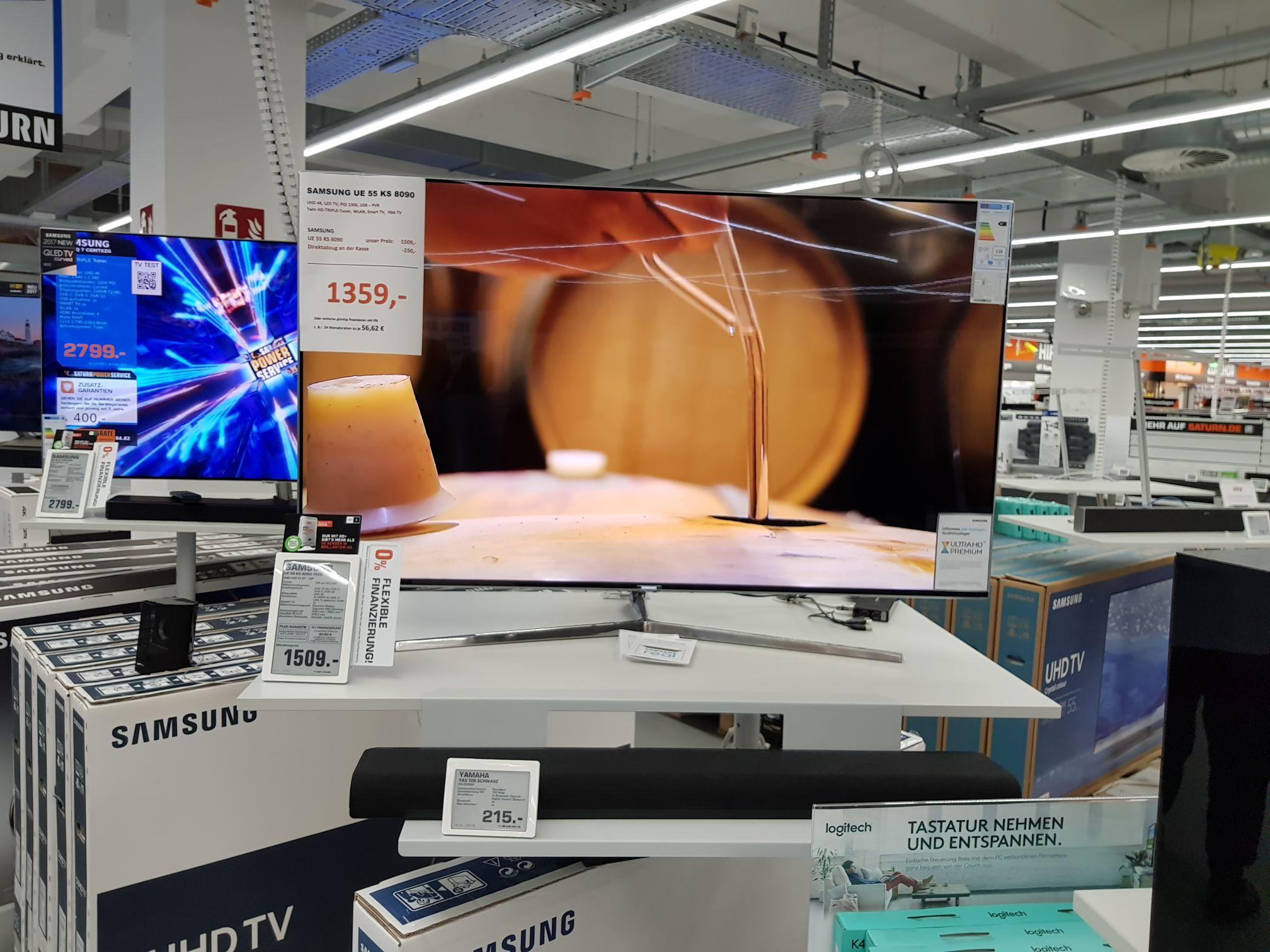 Samsung 55 KS8090