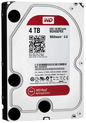 "WD Red NAS-Festplatte 4TB 3,5"" SATA Bulk WD40EFRX [Amazon.fr]"