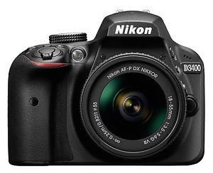 Nikon D3400 Kit schwarz + AF-P 18-55 VR für eff. 315€ mit eBay Plus WOW-Code und Nikon Cashback