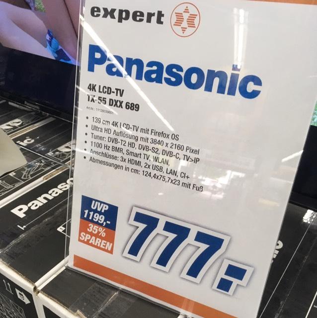Panasonic TX-55 DXX 689