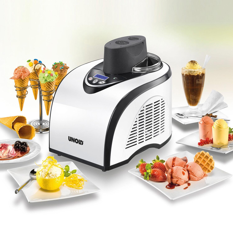Unold Polar Kompressor Speise Eismaschine Digital-Display Eiscreme Eis Maschine für 122€ inkl. Versand