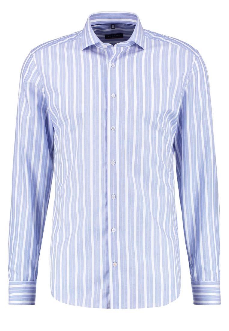Eterna Businesshemd in hellblau gestreift (Slim Fit + bügelfrei) für 16,15€ inkl. Versand statt 40€