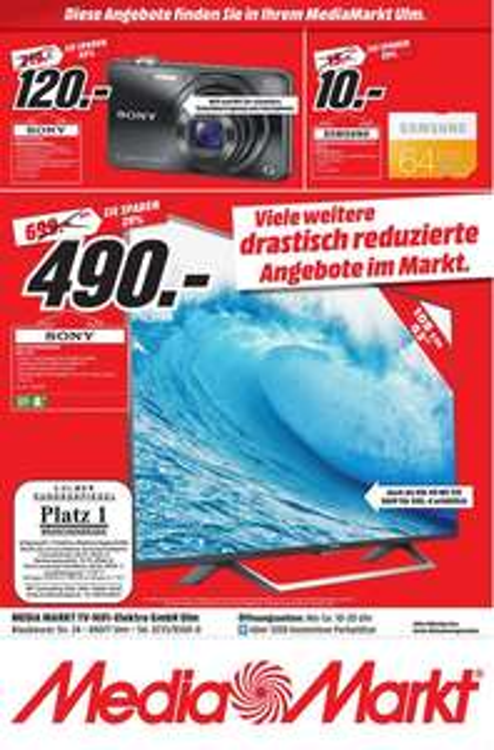 [LOKAL MM ULM] Sony DSC-WX 220B Digitalkamera WLAN NFC BIONZ X Bildstabilisator 18,2 Megapixel 10-fach Zoom (25 - 250mm) 2,7 Zoll 109g Gewicht PVG: 165,99 Euro
