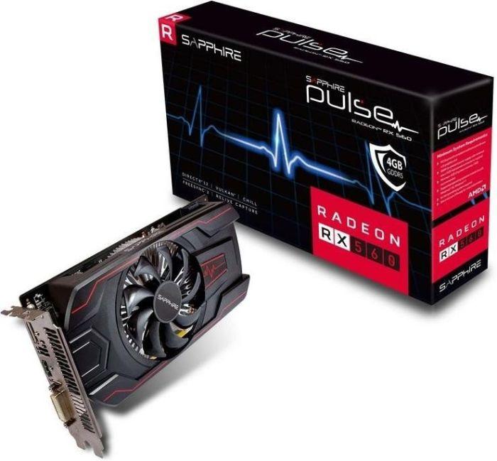 Sapphire Pulse Radeon RX 560 mit 4GB VRAM  [plexcom]