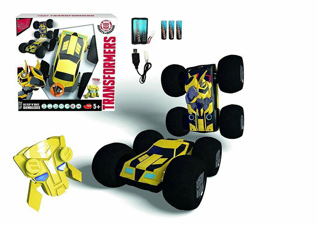 "DICKIE TOYS Transformers ""Flip Bumblebee"", ferngesteuertes Auto, galeria kaufhof"