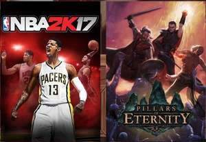 [Steam] Humble Monthly August 2017 (NBA 2K17, Pillars of Eternity + 8 Spiele im August)