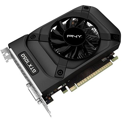 PNY GeForce GTX 1050, 2GB GDDR5, DVI, HDMI, DisplayPort & Rocket League Downloadcode [Amazon.fr]