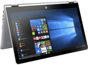 "HP Pavilion x360 15"" 15-br070ng (Intel Core i5-7200U, 8 GB RAM, 256GB SSD, AMD Radeon 530, Windows 10 Home) für 768,64€ im HP Education Store"