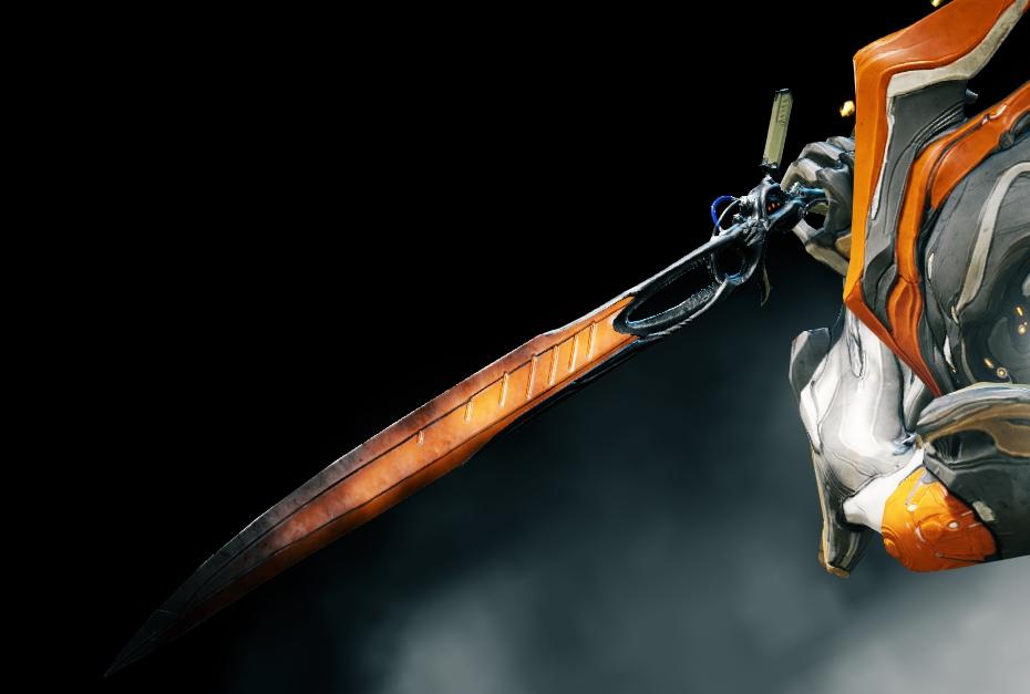 Warframe: Heat sword inklsuive weapon slot kostenlos.