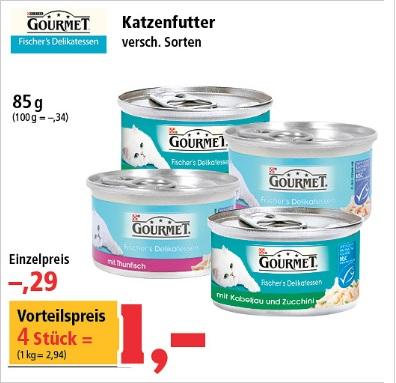 [T.Phillips] Purina Gourmet versch. Sorten 4 Stk = 1 € [Bundesweit?]