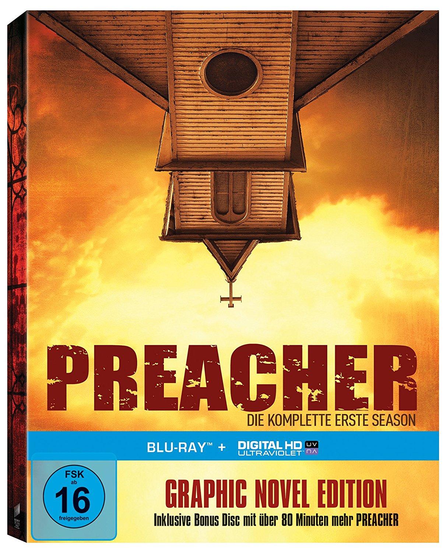 Preacher - Die komplette erste Season (Steelbook) (Blu-ray) für 9,99€ versandkostenfrei (Saturn)