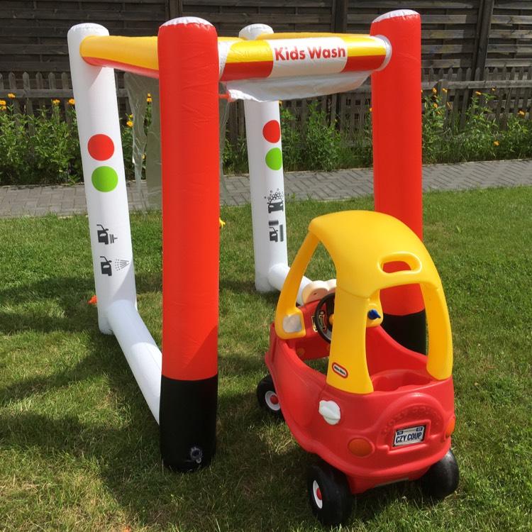 [Shell] Gratis Kinderwaschanlage im Wert von 39,99€ bei 4 x Premium Autowäsche