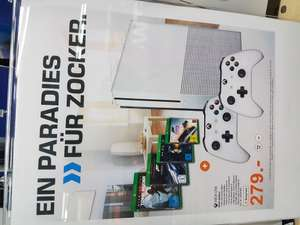 [LOKAL][Weiterstadt[Saturn Loop 5] Xbox One S 500GB Weiß + 2. Controller, Rise of the Tomb Raider, Forza MS 6, Halo Master Chief Collection (Disc Versionen) + Forza Horizon 3 (Play Anywhere DL Code) für 279€