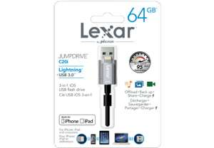 LEXAR JumpDrive C20I USB-Lightning-Stick 64 GB bei MM