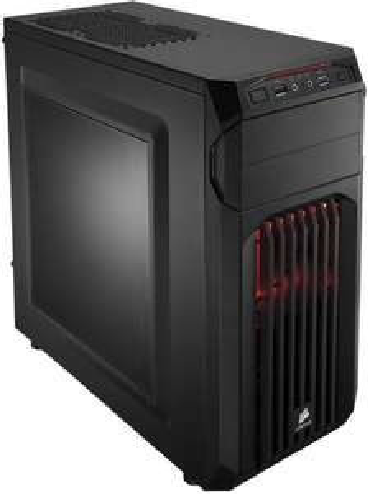Ryzen-Gaming-PC mit Ryzen 5 1600 (6x 3.2GHz), GTX 1060 6GB, 8GB RAM, 1TB HDD, MSI Mainboard und Corsair Gehäuse