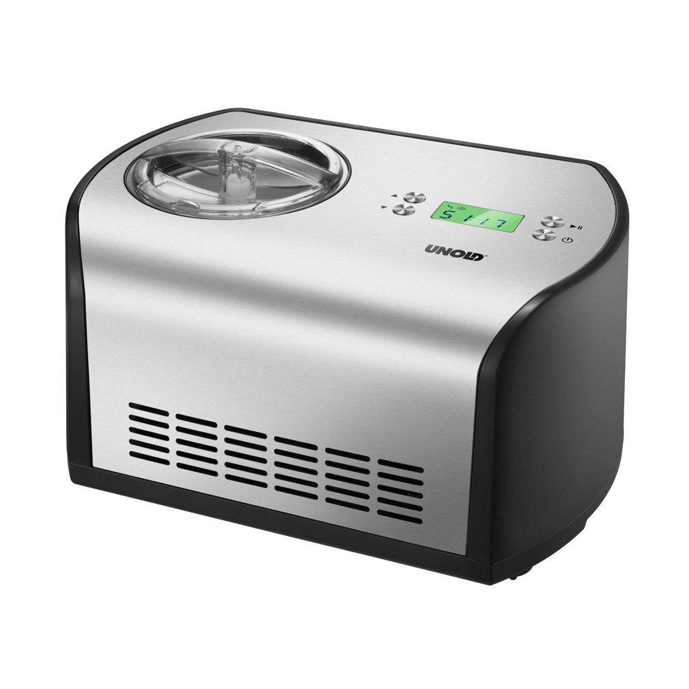 [Amazon] UNOLD Eismaschine One, mit Kompressor, 1,2 Liter Eiscreme, 48865 für 110€