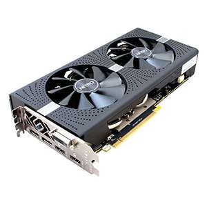 Sapphire Radeon RX 580 Nitro+ 8GB GDDR5 Grafikkarte (3840 x 2160 pixels, 1411 MHz, 8 GB, GDDR5) für 262,10€ [Amazon.it]