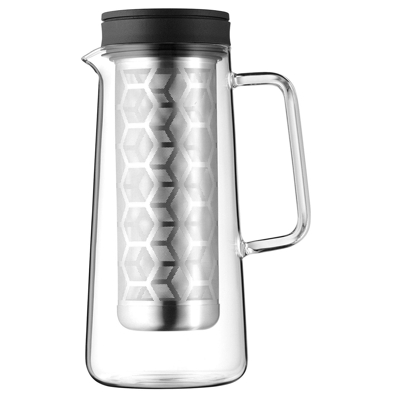 [Amazon Prime] WMF Light Brew Kaffeekanne WMF Coffee Time 0,7l Glas Cromargan Edelstahl rostfrei 18/10 spülmaschinengeeignet
