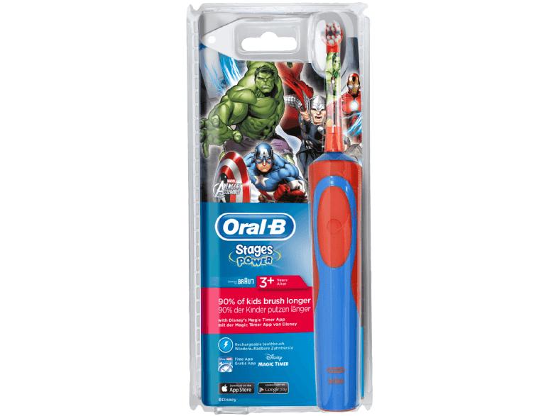 Oral-B Stages Power Kids Elektrische Kinderzahnbürste (Marvel-Avengers Design) für 9,66€ versandkostenfrei (Media Markt)