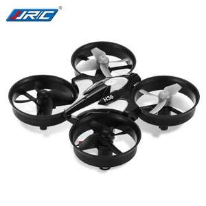 Gearbest JJRC H36 2.4GHz 4CH 6 Axis Gyro RC Quadcopter  -  GRAY