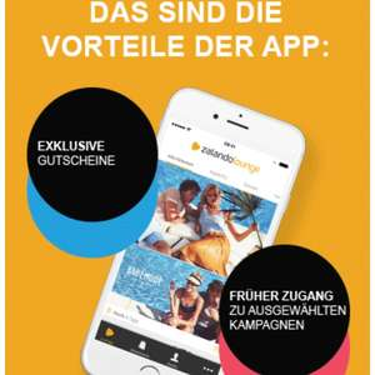 Versandkostenfrei Zalando Lounge mit der App