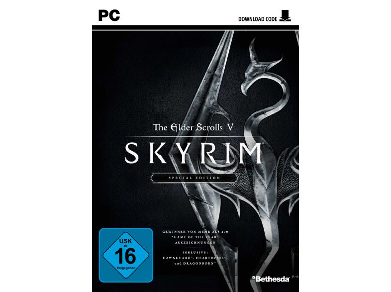 The Elder Scrolls V: Skyrim - Special Edition [PC] für nur 12€ versandkostenfrei bei Media Markt & Amazon !