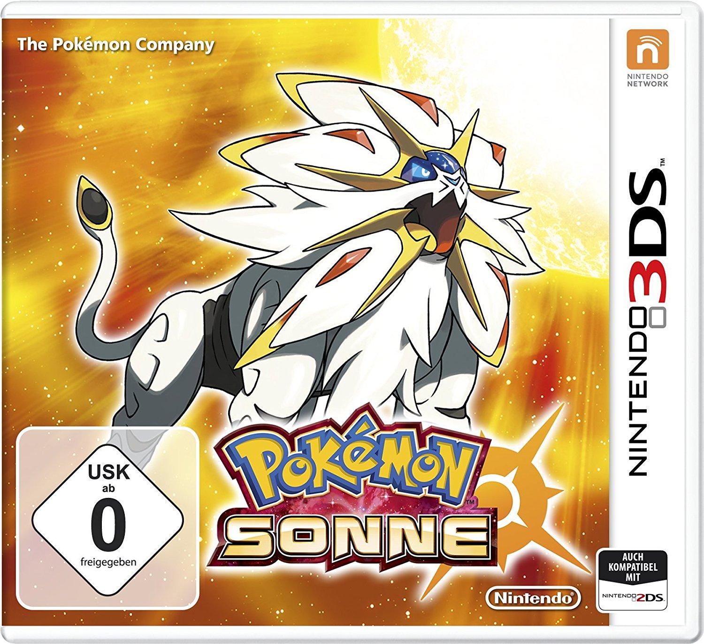 Pokemon Sonne (3DS) ab 23,79€ versandkostenfrei (Saturn + Amazon Prime + eBay Saturn)