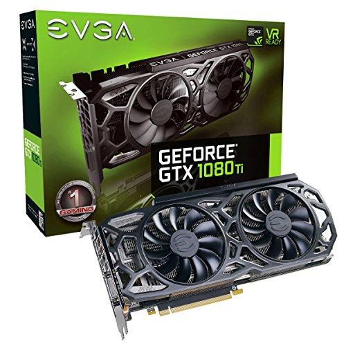 EVGA GeForce GTX 1080 Ti SC Black Edition GAMING (Vorbestellung) [amazon.co.uk]