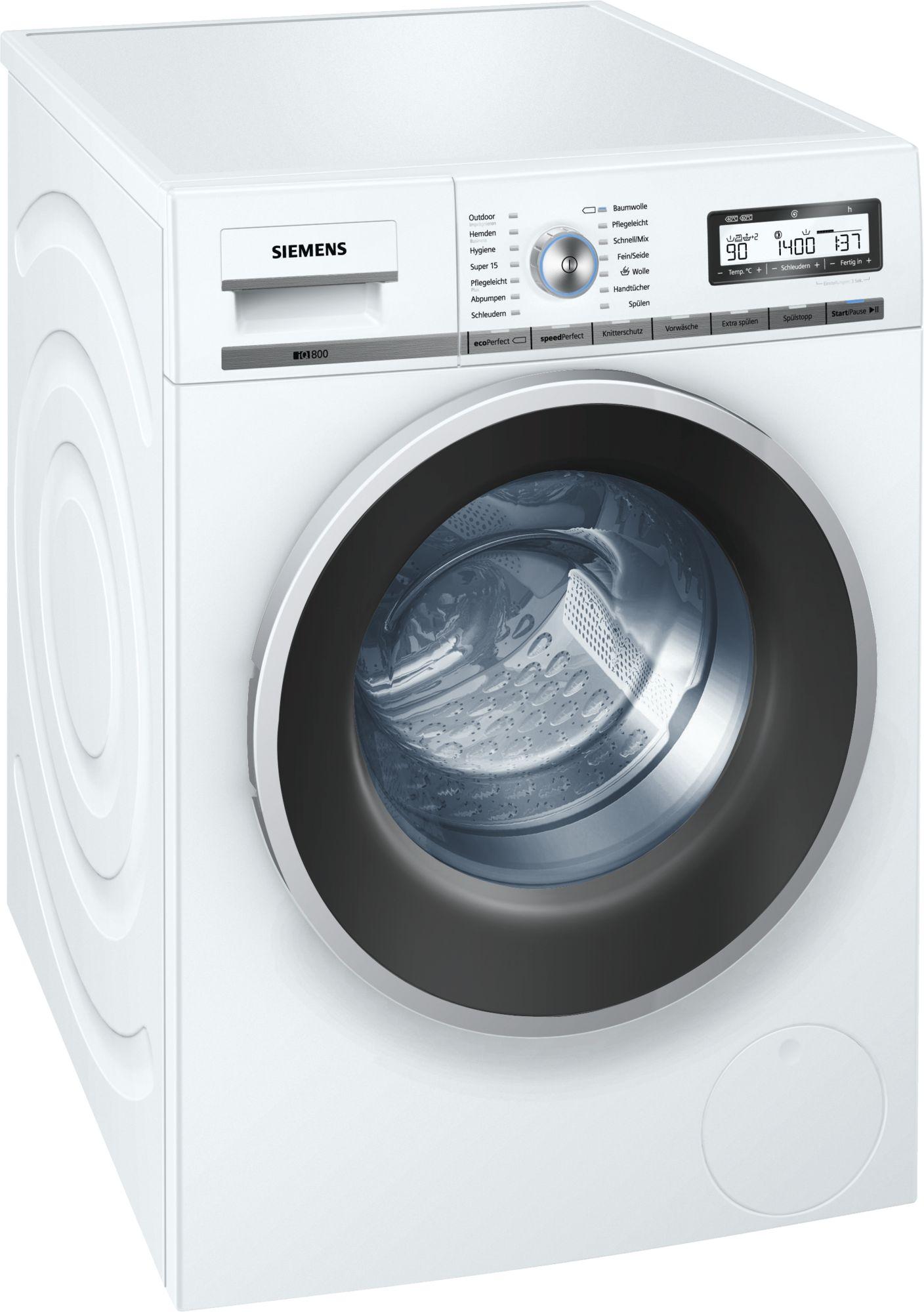 [Saturn] Siemens WM14Y54A (iQ800) Waschmaschine für 525 € - EEK A+++, 8kg, 1400 U/min, iQdrive Motor (10 Jahre Motor-Garantie), sehr leise