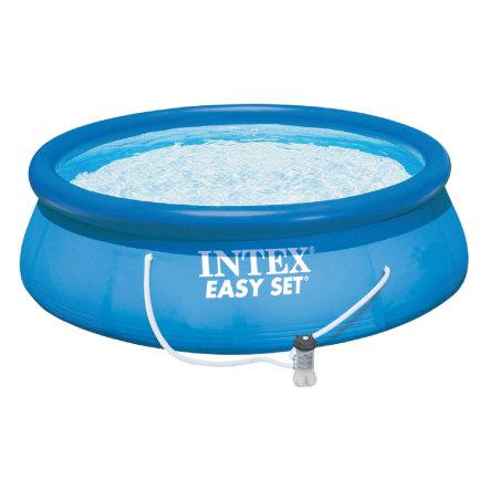 Intex Swimming Pool Easy Set mit Kartuschenfilter (366x76cm) für 53,99€ bei [babymarkt]