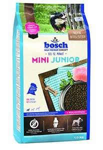 Amazon Prime: bosch Hundefutter Mini Junior 1 kg, 5er Pack (5 x 1 kg)