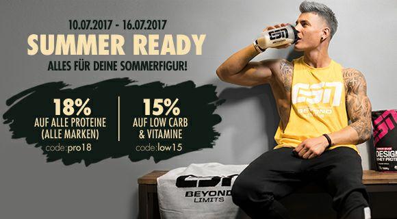 18% Rabatt auf ESN Whey Proteine & 15% auf Low Carb & Vitalstoff im Angebot