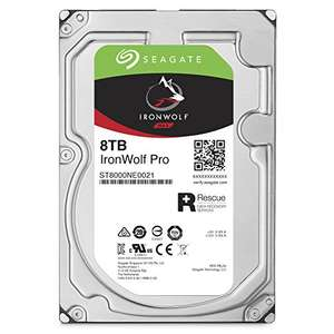 "[Amazon PrimeDay] Seagate IronWolf PRO 8 TB, ST8000NE0021, 3,5"" interne Festplatte, NAS"