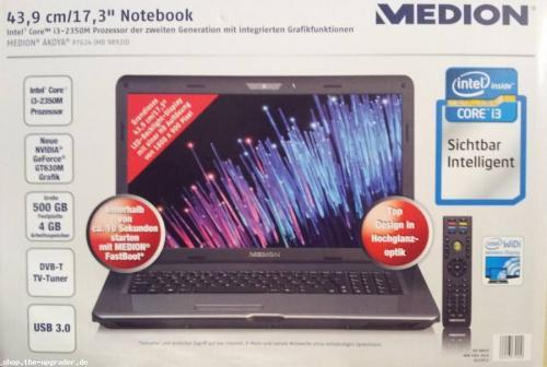 [LOKAL OH] Notebook Medion Akoya P7624 (MD 98970) € 499,- @ALDI Lensahn